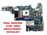 HP Compaq CQ42 CQ62 G42 G62 G72 G62T G72T Intel Motherboard 595183-001 Test Good