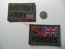 British Army & 'UK Forces' MTP green morale patch for Osprey / UBACS etc.
