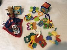 Baby Toy Lot of 10 Learning Developmental Toys Rattles Teethers