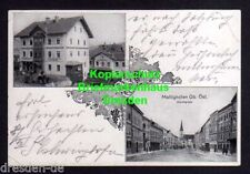 116907 AK Mattighofen Oberösterreich 1924 Markt Weingrosshandlung Meinl Kaffee L