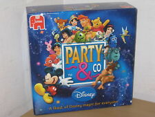 PARTY &/AND CO DISNEY BOARD GAME - GREAT PARTY FUN- 100% COMPLETE NICE CONDITION