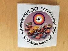 Aufkleber Sticker 100 Jahre Automobile Werbung SIKU 80er /  90er TOP!