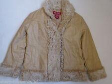 Manteaux, vestes et tenues de neige beige en fourrure pour fille de 2 à 16 ans