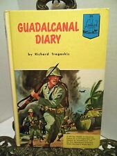 Guadalcanal Diary Landmark Book 55  Marines Pacific WWII Battles Fight Japanese