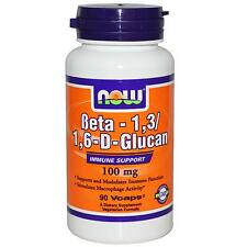 maintenant Foods - Le Bêta GLUCANE - Beta 1,3/1,6 d-glucan - 100mg x 90