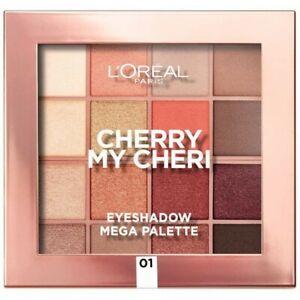 Cherry My Cheri - La Méga Palette d'Ombres à Paupières de L'Oréal Paris