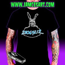 Frank the bunny Donnie Darko Men's Tee 100% Cotton movie Time Travel iamcesart