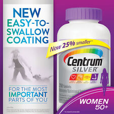 Centrum Silver Women 50+, 250 Tablets Multi Vitamins