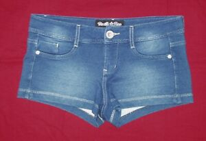 VANILLA STAR WOMEN'S LOW-RISE SHORT SHORTS EXTRA STRETCHY SIZE 7 NWOT
