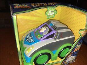 New Disney Pixar Toy Story Beyond Super Soft Foam Fun Racers Sounds Buzz Car Toy