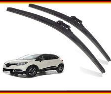 "RENAULT Captur 2013-2019 Set of 2 front windscreen wiper blades 26""14""BL/TLB"