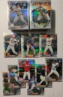 2019 BOWMAN DRAFT * COMPLETE SET ALL REFRACTORS! BDC1-200 RARE SET TO COMPLETE!