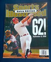 Sept 14, 1998  Sports Illustrated Extra Edition Mark McGwire 62 HR  NEWSSTAND