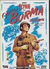 Objective Burma DVD Errol Flynn James Brown NEW R0 1945 War WWII