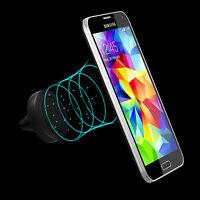 360° Universal Auto Lüftungs-Halterung Magnet KFZ Handy Smartphone Navi Gitter