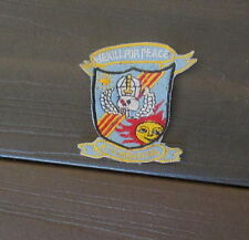 "VIETNAM WAR PATCH-RT KANSAS CCN ""WE KILL FOR PEACE"" PATCH"
