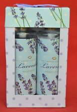 BOOTS 'THE GARDEN COLLECTION'   LAVENDER HAND WASH & HAND LOTION - 2 x 300 ml