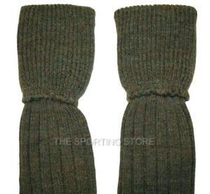 Bisley Long Breek Socks In Tweed Shooting Golf