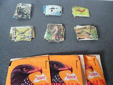 Lot Vintage Rare comme Panini Mes Oiseaux Ed Bobier 124 stickers+pochettes vides