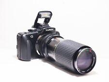 80-200mm= lens 160-400mm on LUMIX G HD 4K Micro 4/3 Digital PEN GX8 G6 G5 G3 GM1