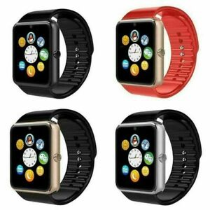 GT08 Bluetooth Smart Watch Touch Screen Wrist with Camera For Android IOS Sport