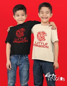 Dirty Fingers Child's T-shirt, Little Dragon Kung Fu Martial Arts Jeet Kune Do