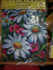 Floral & Lady Bug Flag Excellent Quality