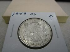 1949 ND - Canada Silver Half Dollar - Canadian 50 cent coin