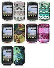 Hard Faceplate Case Phone Cover Accessory for TRACFONE LG 306G LG306G