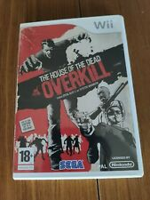 The House of the Dead Overkill de Nintendo Wii (PAL) (Completo)