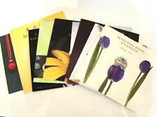 Halcyon Days Enamel Catalogs  - A set of 9 different Halcyon catalogs 2003-2010