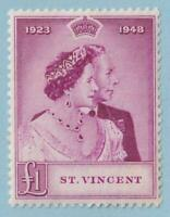 ST VINCENT 155  MINT HINGED OG * NO FAULTS EXTRA FINE !