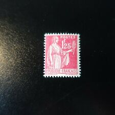TIMBRE TYPE PAIX N°370 NEUF ** LUXE MNH COTE 4€