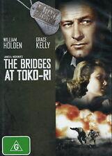 The Bridges At Toko-Ri - Drama / Action / Military - William Holden - NEW DVD