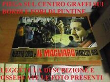 ROVINATA MANIFESTO LOCANDINA FILM ALBERTO SORDI IL MAGLIARO FRANCESCO ROSI TITAN