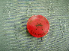 OLD CHURCH ARMY CAMPAIGN - BUTTON PIN BADGE