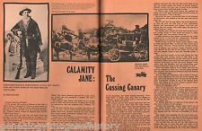 Calamity Jane - The Cussing Canary + Burke,Eagan,Hickok,McCall,Sweringers,Union