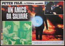 fotobusta  TENENTE COLOMBO UN AMICO DA SALVARE   PETER FALK