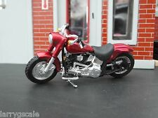 Harley-Davidson 2000 FLSTF Street Stalker Motorcycle 1/24 Scale Diorama Item