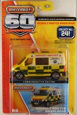 MATCHBOX 60th Anniversary #06 Renault Master Ambulance, 2013 issue (NEW)