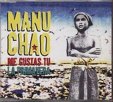 MANU CHAO - Me gustas tu - CDs SINGLE 2001 COME NUOVO UNPLAYED 3 TRACKS