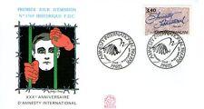 FDC - FRANCE 2728 - 30EME ANNIVERSAIRE D'AMNESTY INTERN
