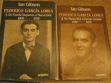 Gibson Frederico Garcia Lorca De Fuente Vaqueros à Nueva York a Fuente Grande