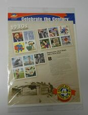CELEBRATE THE CENTURY 1930's U.S. Stamp Set SEALED Mint #5542 Superman MONOPOLY