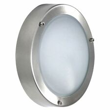 Ranex Wall light stainless steel round