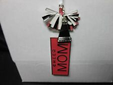 """Hallmark Direct Imports """"Cheerleader Mom"""" 2014 Metal Ornament NEW with Tags"""