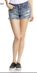 Bnwt Volcom Stoned Denim Shorts Size 7, 28 Inch Waistband. Approx 8-10 Uk