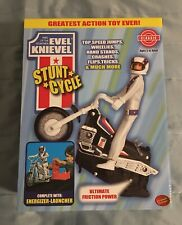 Classic Series Evel Knievel Stunt Cycle And Energizer-Launcher Set Action Toy