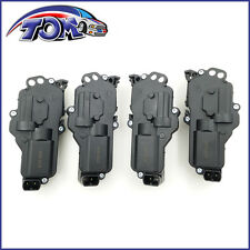 BRAND NEW 4PC SET OF 2 RIGHT AND 2 LEFT SIDE DOOR LOCK ACTUATORS FOR FORD