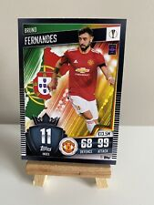 Match Attax 101 2020/21 2021 Bruno Fernandes Base Card Manchester United #11